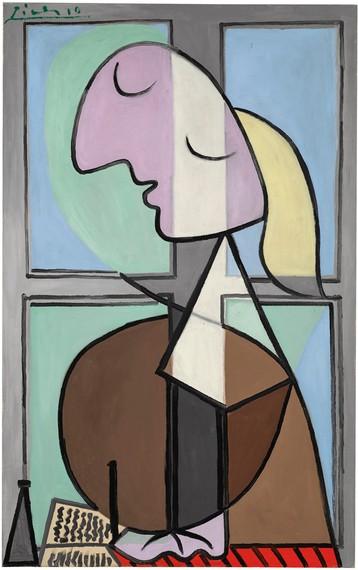 Pablo Picasso, Buste de femme de profil (Femme écrivant), 1932, Fondation Beyeler, Riehen/Basel © Succession Picasso/2020, ProLitteris, Zurich