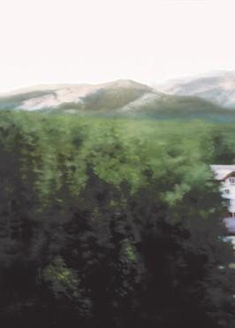 Gerhard Richter, Waldhaus (House in Forest), 2004 © Gerhard Richter 2020