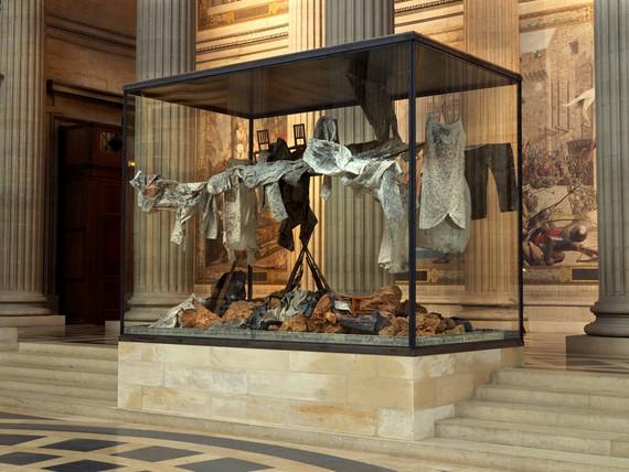 Anselm Kiefer, Qu'est-ce que nous sommes. . .,2020, installation view, Panthéon, Paris © Anselm Kiefer. Photo: Georges Poncet