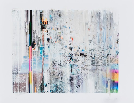 Sarah Sze, Afterimage, Silver, 2018 © Sarah Sze