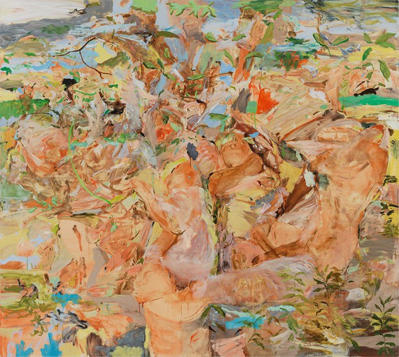 Cecily Brown, Figures in a Landscape 1, 2001 © Cecily Brown