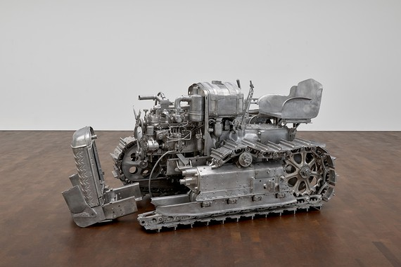 Charles Ray, Tractor, 2003–04 © Charles Ray, courtesy Matthew Marks Gallery