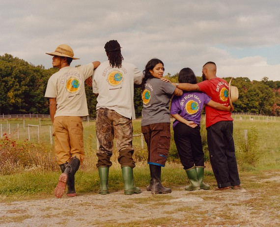 Sky High Farm T-shirts with illustrations by Joana Avillez. Photo: Quil Lemons