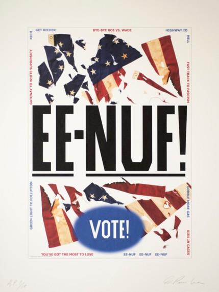 Ed Ruscha, EE-NUF!, 2020 © Ed Ruscha