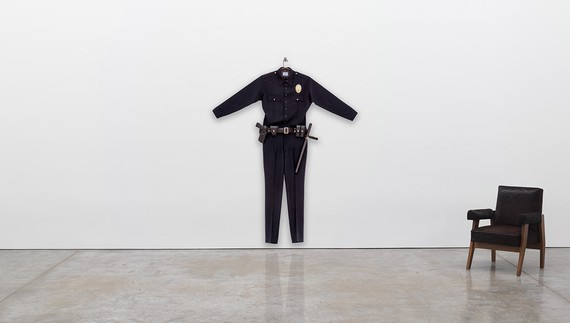 Chris Burden, L.A.P.D. Uniform, 1993 © 2020 Chris Burden/Licensed by the Chris Burden Estate and Artists Rights Society (ARS), New York