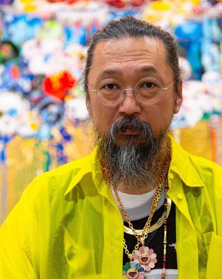 Takashi Murakami. Photo: Ricardo Miyada