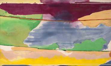 Helen Frankenthaler, Hybrid Vigor, 1973, Friends of the Menil Collection © 2020 Helen Frankenthaler Foundation, Inc./Artists Rights Society (ARS), New York. Photo: Paul Hester