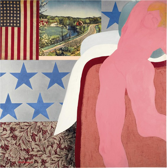 Tom Wesselmann, Great American Nude #5, 1961 © The Estate of Tom Wesselmann/Licensed by ARS/VAGA, New York