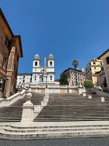 The Spanish Steps, located near Gagosian, Rome. Photo: Pepi Marchetti Franchi