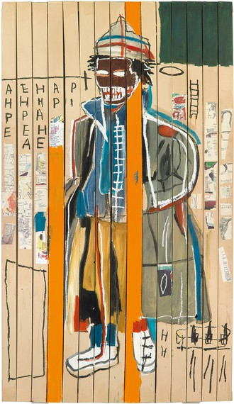 Jean-Michel Basquiat, Anthony Clarke, 1985 © Estate of Jean-Michel Basquiat. Licensed by Artestar, New York