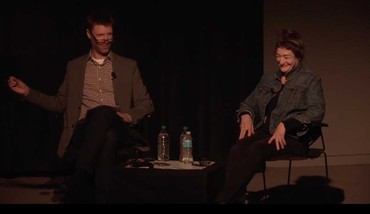 Still of Nancy Rubins in conversation with Tyler Green