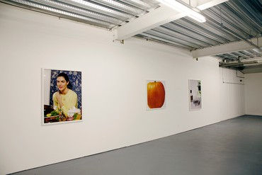 Installation view, Deutsche Börse Photography Prize 2011: Roe Ethridge, Ampica P3, London, 2011. Artwork © Roe Ethridge