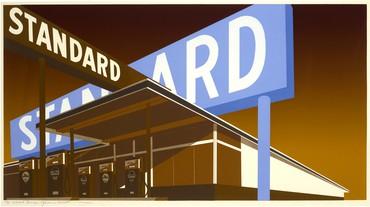 Ed Ruscha,Double Standard, 1966–69 © Ed Ruscha