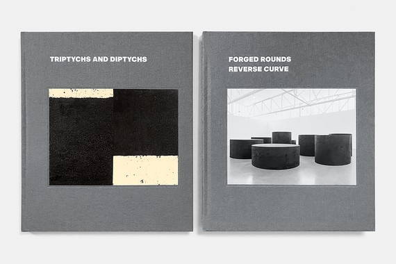 Richard Serra: Triptychs and Diptychs, Forged Rounds, Reverse Curve (New York: Gagosian, 2020)