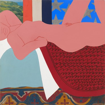 Tom Wesselmann, Great American Nude #1, 1961 © The Estate of Tom Wesselmann/Licensed by ARS/VAGA, New York