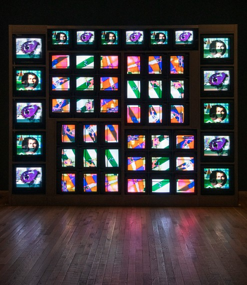 Nam June Paik, Internet Dream, 1994, installation view, Tate Modern, London © Estate of Nam June Paik