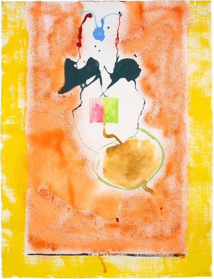 Helen Frankenthaler, Solar Imp, 1995, Helen Frankenthaler Foundation, New York © 2021 Helen Frankenthaler Foundation, Inc./Artists Rights Society (ARS), New York. Photo: Roz Akin