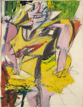 Willem de Kooning, Woman, 1953, Hirshhorn Museum and Sculpture Garden, Washington, DC © 2021 The Willem de Kooning Foundation/Artists Rights Society (ARS), New York