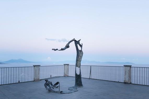 Giuseppe Penone, Equivalenze, 2016, installation view, Procida, Italy © 2021 Artists Rights Society (ARS), New York/ADAGP, Paris
