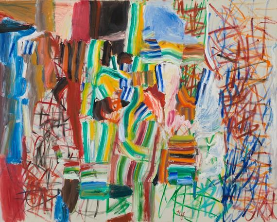 Roy Lichtenstein, Variations No. 7, 1959, Whitney Museum of American Art, New York © Estate of Roy Lichtenstein