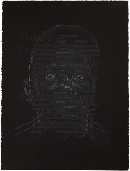Titus Kaphar, Redaction (Habeas Corpus), 2020 © Titus Kaphar. Photo: Christopher Gardner