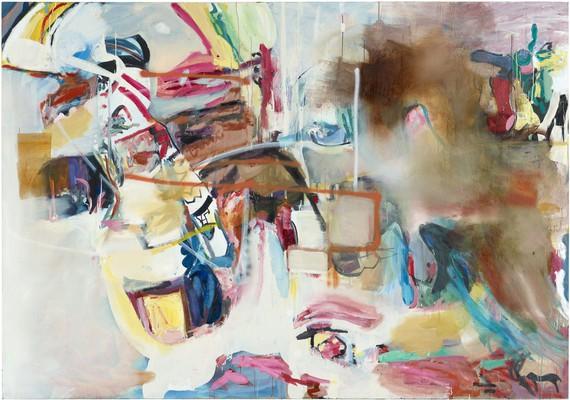 Albert Oehlen, Untitled, 1997/2005 © Albert Oehlen. Photo: Lothar Schnepf