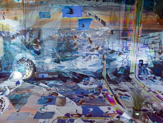 Sarah Sze, Fifth Season, 2021, installation view, Storm King Art Center, New Windsor, New York © Sarah Sze