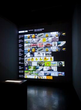 Taryn Simon and Aaron Swartz, Image Atlas (2012), installation view, C/O Berlin Foundation © Taryn Simon. Photo: David von Becker