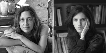 Left: Adriana Varejão. Photo: Vicente de Mello. Right: Luisa Duarte