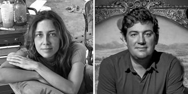 Left: Adriana Varejão. Photo: Vicente de Mello. Right: Pedro Alonzo. Photo: René Castelán Foglia