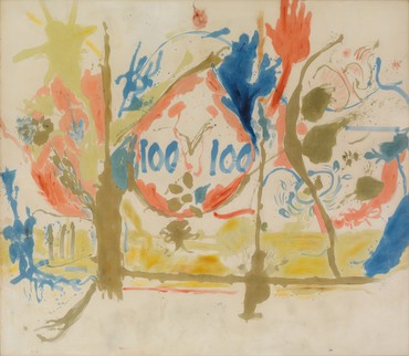 Helen Frankenthaler, Eden, 1956, collection Helen Frankenthaler Foundation © 2021 Helen Frankenthaler Foundation, Inc./Artists Rights Society (ARS), New York
