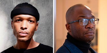 Left: Antwaun Sargent. Photo: Darius Garvin. Right: Horace D. Ballard. Photo: Jessica Smolinski