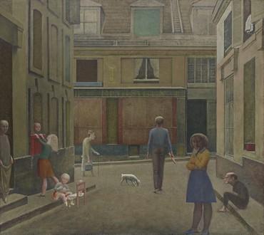 Balthus, Passage du Commerce-Saint-André, 1952–54 © Balthus, 2021