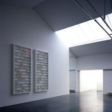 Edmund de Waal's studio, London, 2014. Artwork © Edmund de Waal. Photo: Hélène Binet