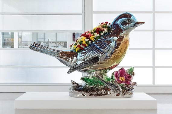 Jeff Koons, Bluebird Planter, 2010–16 © Jeff Koons