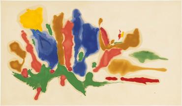 Helen Frankenthaler, Cool Summer, 1962 © 2021 Helen Frankenthaler Foundation, Inc./Artists Rights Society (ARS), New York. Photo: Rob McKeever