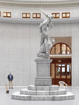 Installation view, Urs Fischer, Bourse de Commerce, Paris, May 22–December 31, 2021. Artwork © Urs Fischer