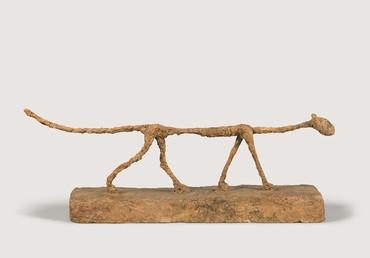 Alberto Giacometti, Le Chat, 1951, Fondation Giacometti, Paris © Succession Alberto Giacometti (ADAGP + Fondation Giacometti), 2021