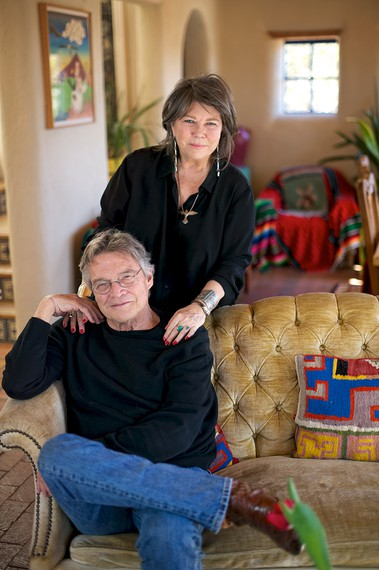 Terry and Jo Harvey Allen. Photo: Salvador Sergio