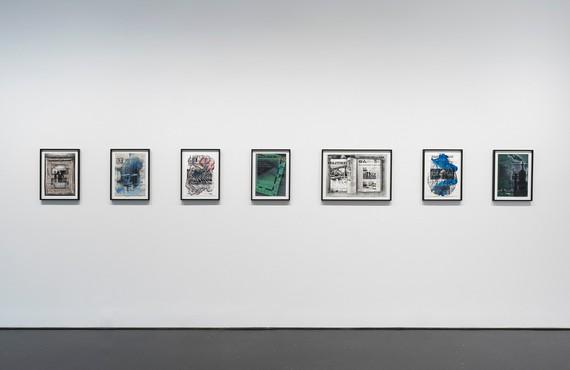 Installation view, Tatiana Trouvé: From March to May, Gagosian, 976 Madison Avenue, New York, September 18–October 30, 2021. Artwork © Tatiana Trouvé. Photo: Rob McKeever