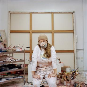 Joanna Vestey, Jenny Saville RA, December 2020, 2020 © Joanna Vestey
