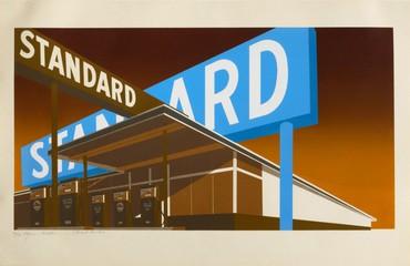 Ed Ruscha, Double Standard #36/40, 1969 © Ed Ruscha