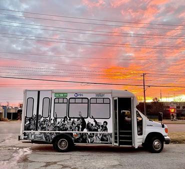 Rick Lowe, G.A.P. Van, Tulsa, Oklahoma, 2021 © Rick Lowe Studio