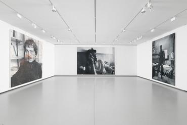 Installation view, Rudolf Stingel, Bourse de Commerce, Paris, May 22–December 31, 2021. Artwork © Rudolf Stingel