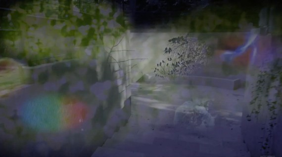 View with Sarah Sze's augmented reality app Night Vision 20/20