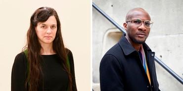 Left: Taryn Simon. Photo: © Taryn Simon. Right: Teju Cole. Photo: Maggie Janik