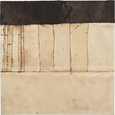 Theaster Gates, White Line Drawing, 2020 © Theaster Gates
