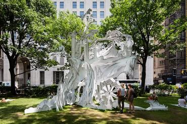 Rachel Feinstein, Cliff House, 2014, installation view, Madison Square Park, New York © Rachel Feinstein. Photo: James Ewing