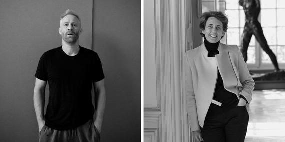 Left: Thomas Houseago. Photo: Ari Marcopoulos. Right: Amélie Simier. Photo: © Agence Photographique du Musée Rodin, J. Manoukian