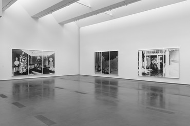 Installation view, Vera Lutter: Museum in the Camera, Los Angeles County Museum of Art, March 29–August 9, 2020. Artwork © Vera Lutter. Photo: © Museum Associates/LACMA